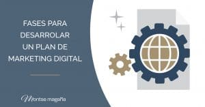 Fases para desarrollar un plan de marketing digital