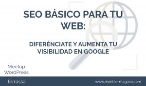 Web optimizada para SEO