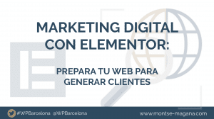 Marketing digital con Elementor
